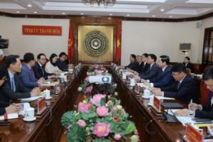 Samsung Việt Nam khẳng định sẽ hỗ trợ tỉnh Thanh Hóa thu hút đầu tư