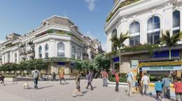 Paris Elysor Thanh Hóa - Trung tâm thương mại và nhà phố Eden
